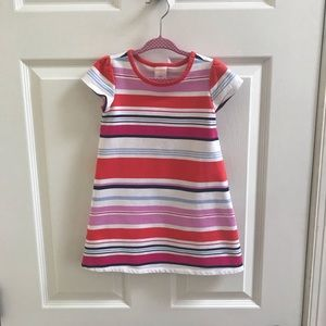 Gymboree Striped Dress 3T